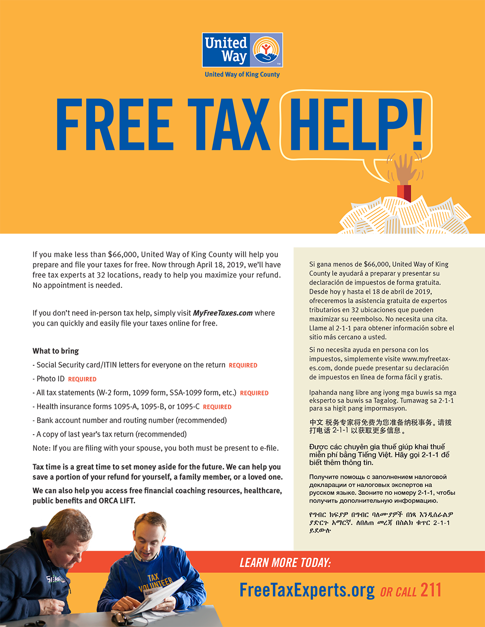 2019-free-tax-preparation png | Seattle Housing Authority