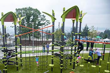 Yesler Terrace Park playground