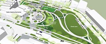 Map of Yesler Terrace Park