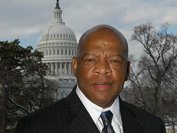 headshot of U.S. Rep. John Lewis
