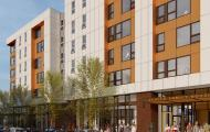 Yesler Family Housing rendering