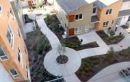 Aerial photo of Kebero Court