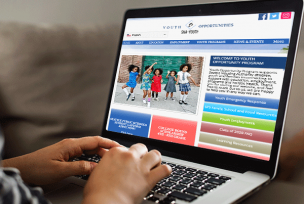 sha youth website homepage