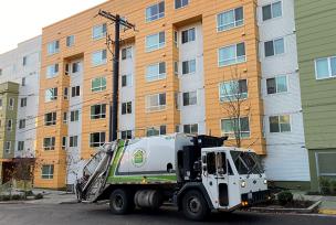 Seattle Housing Authority truck