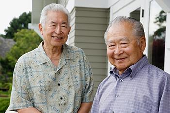 two men